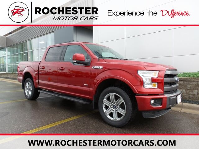 2015 ford f-150 lariat sport n rochester mn 9012732
