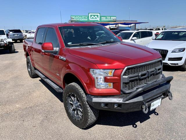 2015 Ford F-150 Lariat SuperCrew 5.5-ft. Bed 4WD Laredo TX