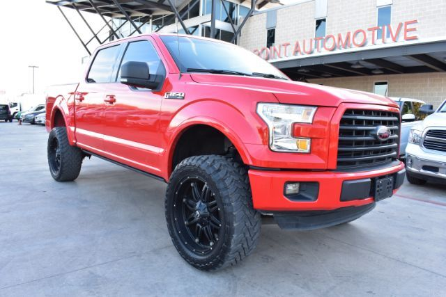 Lifted 2015 F150 >> 2015 Ford F 150 Supercrew Xlt Ecoboost Sb Lifted