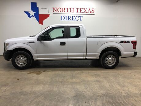 2015 Ford F-150 XL 4x4 5.0 V8 4 Door Bluetooth Back Up Camera Towing Mansfield TX