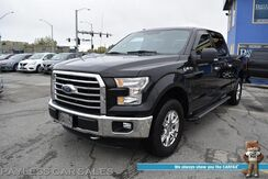 2015_Ford_F-150_XLT / 4X4 / 5.0L V8 / Crew Cab / Auto Start / Power Driver's Seat / Bluetooth / Back Up Camera / Bed Liner / Tow Pkg / Block Heater / 21 MPG / 1-Owner_ Anchorage AK