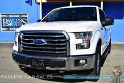 2015_Ford_F-150_XLT / 4X4 / Crew Cab / 5.0L V8 / Navigation / Heated Seats / Auto Start / Microsoft Sync Bluetooth / Back-Up Camera / Bed Liner / Tow Pkg / 1-Owner_ Anchorage AK