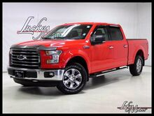 2015_Ford_F-150_XLT Rear View Cam Bluetooth Bedliner Chromes_ Villa Park IL