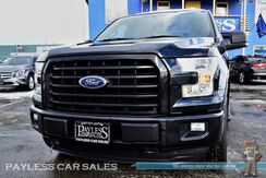 2015_Ford_F-150_XLT / Sport Appearance Pkg / 4X4 / 5.0L V8 / Crew Cab / Power Driver's Seat / Microsoft Sync Bluetooth / Back-Up Camera / Bed Liner / Tow Pkg / Block Heater / 1-Owner_ Anchorage AK