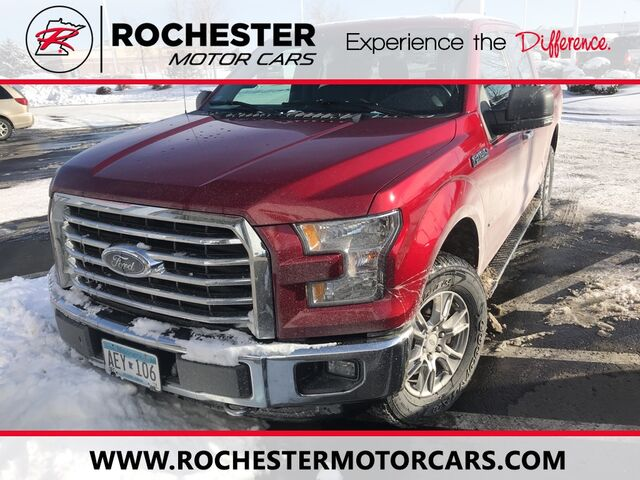 2015 Ford F-150 XLT w/ Rearview Camera + Chrome Appearance Package Rochester MN