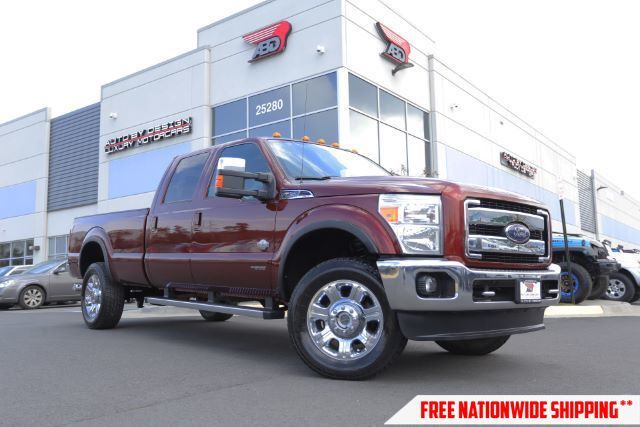 2015 Ford F-350 SD King Ranch Crew Cab Long Bed 4WD Chantilly VA
