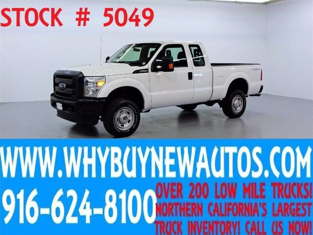 2015 Ford F250 ~ 4x4 ~ Extended Cab ~ Only 38K Miles! Rocklin CA