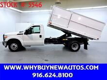 2015_Ford_F350_~ 12ft Dump Bed ~ Only 26K Miles!_ Rocklin CA