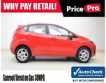 2015 Ford Fiesta SE w/Sunroof