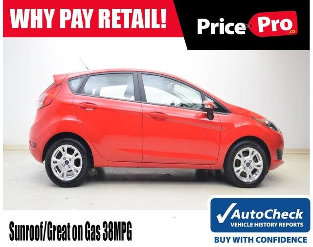 2015 Ford Fiesta SE w/Sunroof Maumee OH