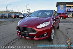 2015_Ford_Fiesta_Titanium / Automatic / Heated Leather Seats / Sunroof / Navigation / Sony Speakers / Microsoft Sync Bluetooth / Back Up Camera / Keyless Entry & Start / Blizzak Tires / 16in Alloy Wheels / Low Miles / 36 MPG_ Anchorage AK