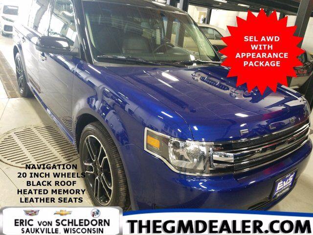 2015 Ford Flex SEL AWD AppearancePkg w/Nav 20s HtdMemLthr RearCamera Milwaukee WI