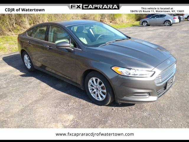 2015 Ford Fusion S Watertown NY