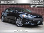 2015 Ford Fusion Titanium 1 Owner Navi Rear Camera Heated Leather