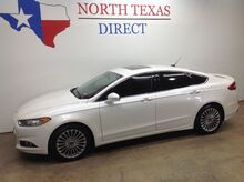2015_Ford_Fusion_Titanium Ecoboost Leather Gps Navi Camera Sunroof_ Mansfield TX
