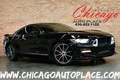 2015_Ford_Mustang_Fastback - 2.3L ECOBOOST 4-CYL TURBO ENGINE REAR WHEEL DRIVE RTR AERO KIT BLACK CLOTH INTERIOR BACKUP CAMERA KEYLESS GO BLUETOOTH PERFORMANCE AIR INTAKE SPORT SUSPENSION_ Bensenville IL
