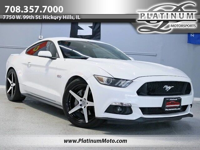 2015 Ford Mustang GT 2 Owner Exhaust Lowered Back Up Camera Hickory Hills IL