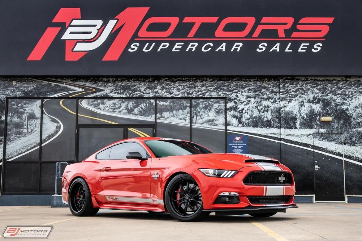 2015 Ford Mustang Shelby Super Snake Tomball TX