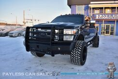 2015_Ford_Super Duty F-250_King Ranch / FX4 / 4X4 / 6.7L Diesel / Crew Cab / Auto Start / Heated & Cooled Leather Seats / Sony Speakers / Navigation / Sunroof / Aftermarket Bumpers / Back Up Camera / Bed Liner / Tonneau Cover / Tow Pkg_ Anchorage AK