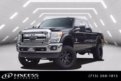 Ford Super Duty F-250 SRW 4x4 Platinum 6 IN Fox Lift and Suspension Power Board Extra Fuel Tank 37 IN Tires 20 IN Wheels Platinum 2015