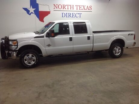 2015 Ford Super Duty F-250 SRW FREE DELIVERY FX-4 4x4 Diesel Ranch Hand Alloys Rhino Liner Mansfield TX
