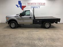 2015_Ford_Super Duty F-250 SRW_FREE HOME DELIVERY! Diesel 4x4 Flat Bed Single Cab_ Mansfield TX
