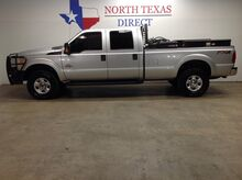 2015_Ford_Super Duty F-250 SRW_XLT 4X4 Diesel Crew Aux Fuel Tank Ranch Hand Tool Boxes_ Mansfield TX