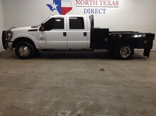 2015_Ford_Super Duty F-350 DRW_F350 XL 4x4 Dually 6.7 Diesel Flatbed Crew Bluetooth_ Mansfield TX
