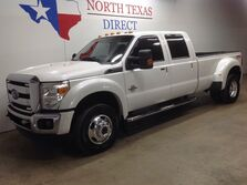 Ford Super Duty F-350 DRW FREE DELIVERY Lariat FX4 4x4 Diesel DRW Heated AC Seats Gps Navi Sunroof 2015