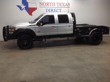 2015_Ford_Super Duty F-350 DRW_Lariat 4x4 Dually Flatbed Ranch Hand Gps Camera Leather_ Mansfield TX