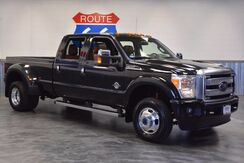 2015_Ford_Super Duty F-350 DRW_PLATINUM EDT! 4WD DIESEL! LEATHER SUNROOF NAVIGATION! LOW MILES! LIKE NEW!!_ Norman OK