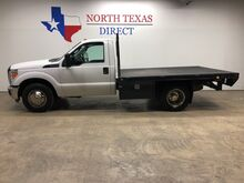 2015_Ford_Super Duty F-350 DRW_XL Dually 10' FlatBed Single Cab Bluetooth Towing_ Mansfield TX