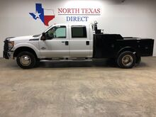 2015_Ford_Super Duty F-350 DRW_XLT RanchHand Turbo Diesel Utility Bed Crew Bluetooth_ Mansfield TX