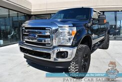 2015_Ford_Super Duty F-350_Lariat / 4X4 / Turbo Diesel / Auto Start / Heated & Cooled Leather Seats / Navigation / Sunroof / Bluetooth / Back Up Camera / Bed Liner / Tonneau Cover / Tow Pkg / Block Heater_ Anchorage AK