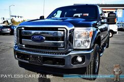 2015_Ford_Super Duty F-350_Lariat / FX4 Off-Road Pkg / 4X4 / Crew Cab / 6.7L Powerstroke Turbo Diesel / Heated Leather Seats / Auto Start / Sony Speakers / Bluetooth / Bed Liner / Tow Pkg / 1-Owner_ Anchorage AK