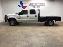 2015_Ford_Super Duty F-350 SRW_XL 4x4 6.7 Diesel Cm FlatBed Gps Navi Bluetooth Ranch Hand_ Mansfield TX