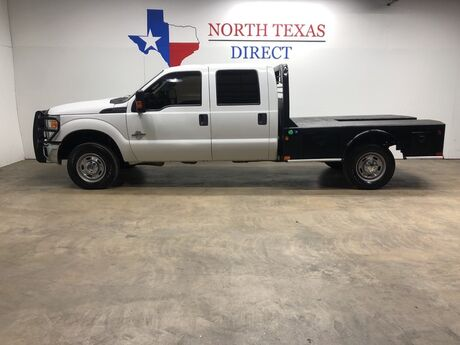 2015 Ford Super Duty F-350 SRW XL 4x4 6.7 Diesel Cm FlatBed Gps Navi Bluetooth Ranch Hand Mansfield TX
