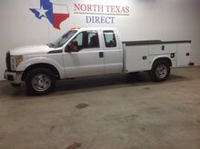 2015_Ford_Super Duty F-350 SRW_XL V8 4 Door Knapheide Utility Bed Bluetooth Keyless Sync_ Mansfield TX
