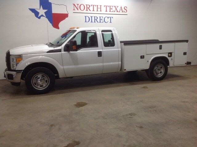 2015 Ford Super Duty F-350 SRW XL V8 4 Door Knapheide Utility Bed Bluetooth Keyless Sync Mansfield TX
