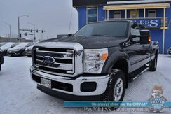 2015_Ford_Super Duty F-350 SRW_XLT / 4X4 / Power Driver's Seat / Seats 6 / Aux Jack / Cruise Control / Bed Liner / Tow Pkg / 1-Owner_ Anchorage AK