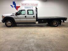 Ford Super Duty F-450 DRW F450 4x4 Flatbed 6.7 Powerstroke Diesel Crew Cab Towing Pkg 2015