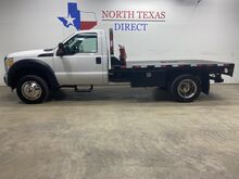 2015_Ford_Super Duty F-550 DRW_F550 XL Diesel Regular Cab Flat Bed Dually 19.5 Tires_ Mansfield TX