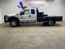 Ford Super Duty F-550 DRW XL 4x4 Diesel Skirted Flat Bed Towing Pkg Chrome Tool Box 2015