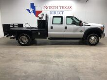 2015_Ford_Super Duty F-550 DRW_XLT 6.7L Diesel Flat 4WD Bed DRW Cab Lights Running Boards_ Mansfield TX