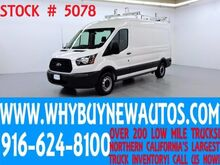 2015_Ford_Transit 250_~ Medium Roof ~ Dual Fold-down Ladder Rack ~ Shelving ~ Only 23K Miles!_ Rocklin CA