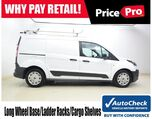 2015 Ford Transit Connect LWB XL Outfitted w/Ladder Racks & Cargo Shelves