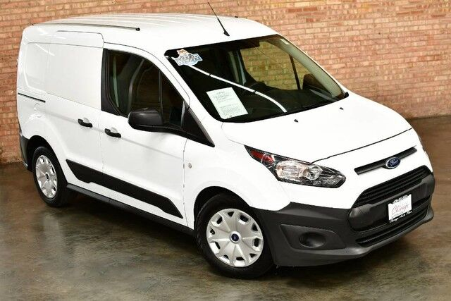 2015 Ford Transit Connect XL - 2.5L DURATEC I4 ENGINE FRONT WHEEL DRIVE 1 OWNER WORK READY REAR CARGO DARK GRAY CLOTH INTERIOR REAR SLIDING DOORS Bensenville IL