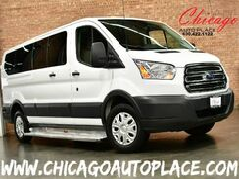 2015_Ford_Transit Wagon_XLT - 3.7L TI-VCT V6 FLEX-FUEL ENGINE GRAY LEATHER INTERIOR 11 PASSENGER POWER WINDOWS_ Bensenville IL