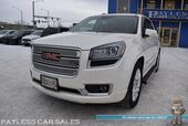 2015 GMC Acadia Denali / AWD / Auto Start / Heated & Cooled Leather Seats / Heated Steering Wheel / Dual Sunroof / Heads Up Display / Bose Speakers / Navigation / Rear DVD / Rear Captain Chairs / 3rd Row / Seats 7 / Bluetooth / Back Up Camera / Tow Pkg