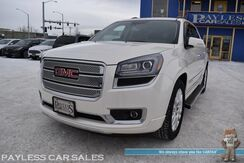 2015_GMC_Acadia_Denali / AWD / Auto Start / Heated & Cooled Leather Seats / Heated Steering Wheel / Dual Sunroof / Heads Up Display / Bose Speakers / Navigation / Rear DVD / Rear Captain Chairs / 3rd Row / Seats 7 / Bluetooth / Back Up Camera / Tow Pkg_ Anchorage AK